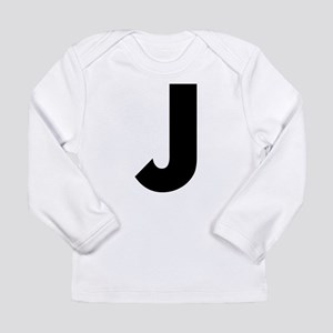Letter J Long Sleeve Infant T-Shirt