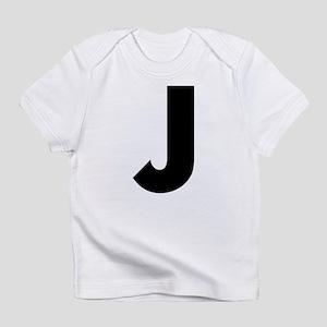 Letter J Infant T-Shirt