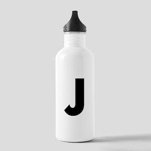 Letter J Stainless Water Bottle 1.0L