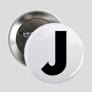 """Letter J 2.25"""" Button"""