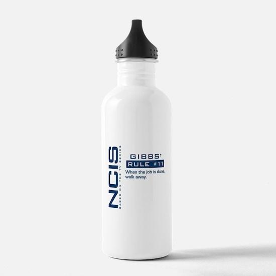 NCIS Gibbs' Rule #11 Water Bottle