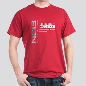 Ncis Gibbs' Rule #11 Dark Dark T-Shirt