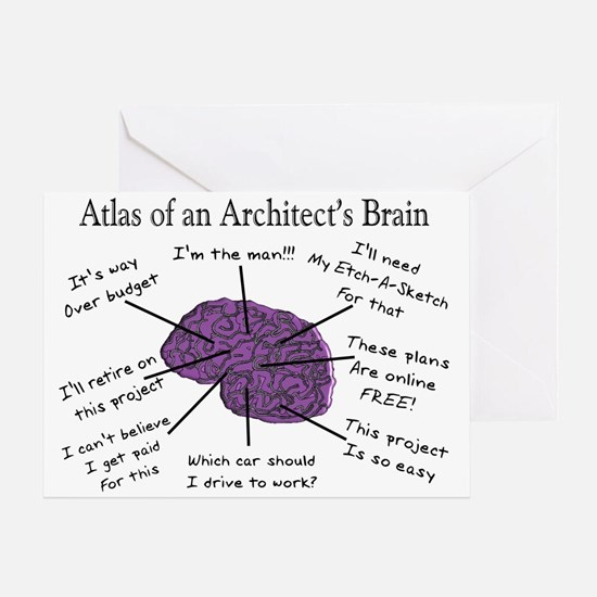 Atlas Of... Greeting Card