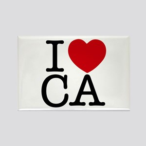 I Heart California Rectangle Magnet