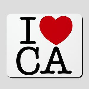 I Heart California Mousepad
