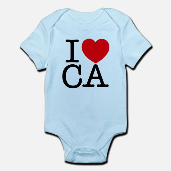 I Heart California Infant Bodysuit