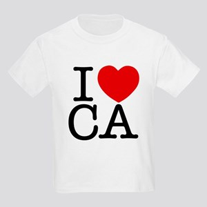 I Heart California Kids Light T-Shirt