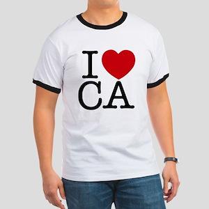 I Heart California Ringer T