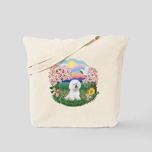 Blossoms-Bichon #1 Tote Bag