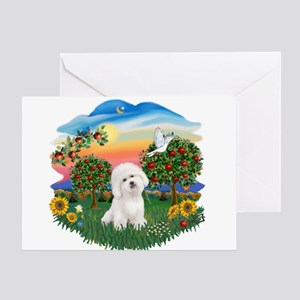 BrightCountry-Bichon#1 Greeting Card