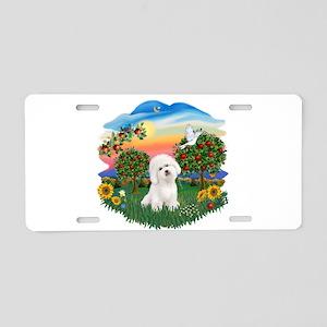BrightCountry-Bichon#1 Aluminum License Plate