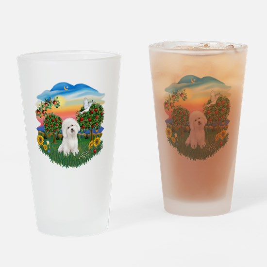 BrightCountry-Bichon#1 Drinking Glass