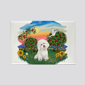 BrightCountry-Bichon#1 Rectangle Magnet