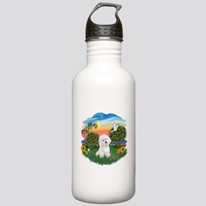BrightCountry-Bichon#1 Stainless Water Bottle 1.0L