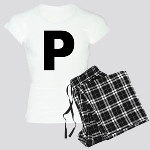 Letter P Women's Light Pajamas