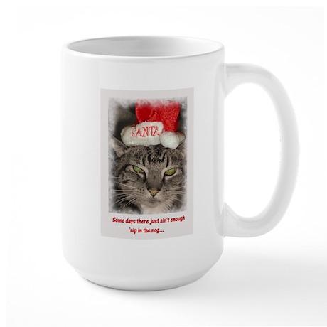 Catnip Christmas Large Mug