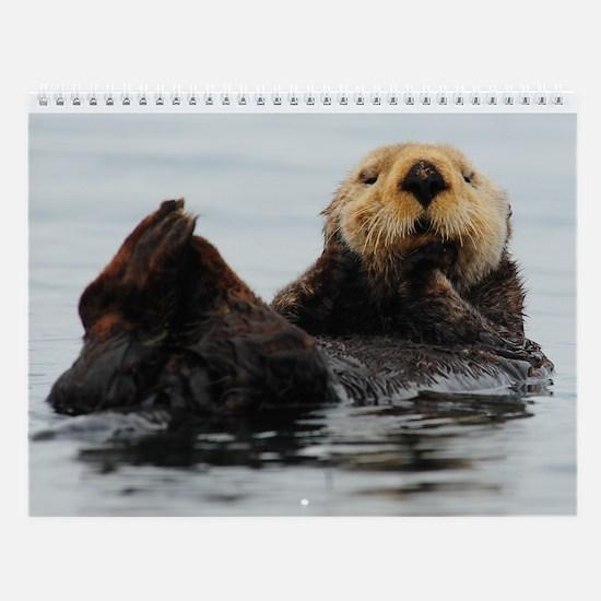 Alaskan Sea Otter Wall Calendar