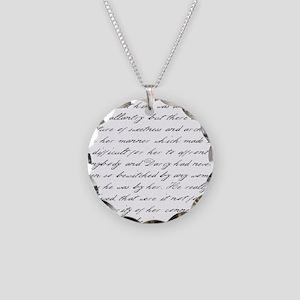 Pride and Prejudice - He Shou Necklace Circle Char