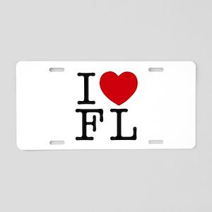 I Heart Florida Aluminum License Plate
