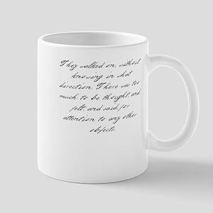 Pride and Prejudice - Too Muc Mug