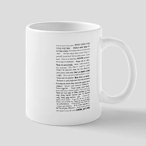 Rules of a Functional Mute Mug