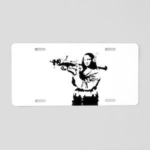 Mona Lisa RPG Aluminum License Plate