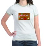 Suger Lips Jr. Ringer T-Shirt
