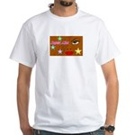 Suger Lips White T-Shirt