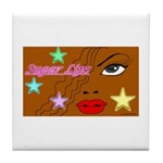 Suger Lips Tile Coaster