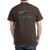 Cozumel mexico Mens Classic Dark T-Shirts