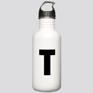 Letter T Stainless Water Bottle 1.0L