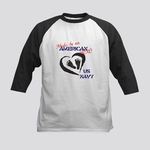 Made by American Hero - Navy Kids Baseball Jersey