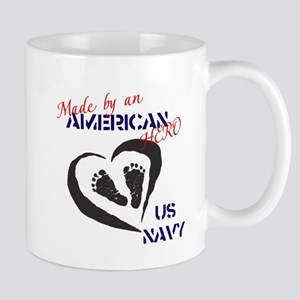 Made by American Hero - Navy Mug