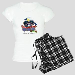 Customizable Bear Friends Women's Light Pajamas