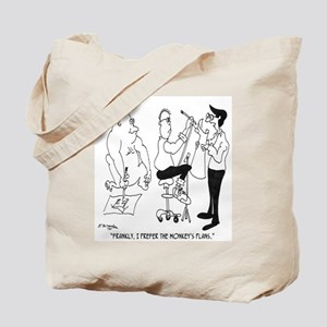 The Monkey's Plans Are Better Tote Bag