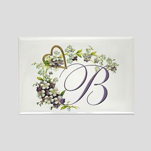 """Letter """"B"""" Rectangle Magnet"""