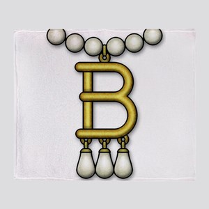 3-Betty Necklace Throw Blanket