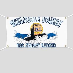 Welcome USS Carter! Banner