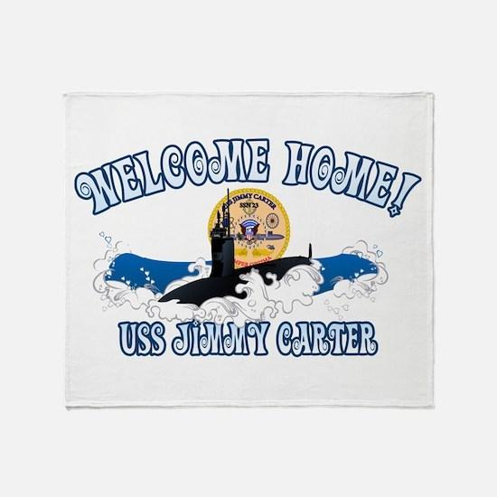 Welcome USS Carter! Throw Blanket