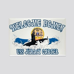 Welcome USS Carter! Rectangle Magnet