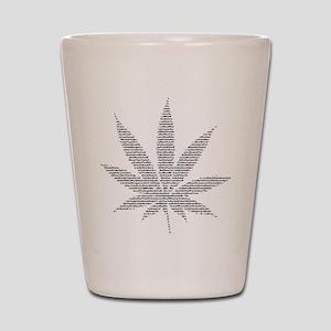 Nom de Pot Shot Glass