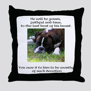 Are You Worthy? II design Throw Pillow