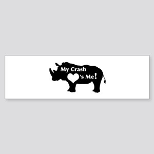 Crash Love Sticker (Bumper)