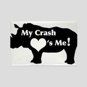 Crash Love Rectangle Magnet