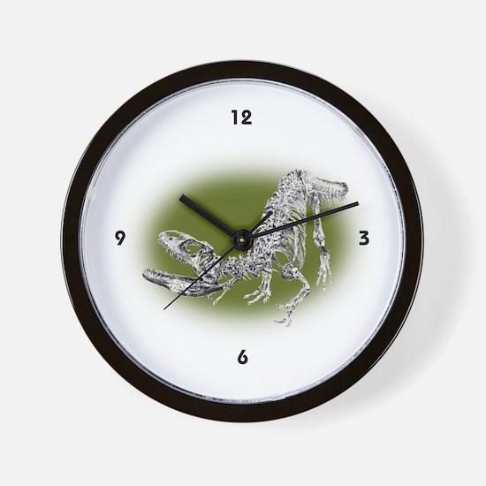 Allosaurus Wall Clock