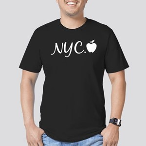 NYC Men's Fitted T-Shirt (dark)