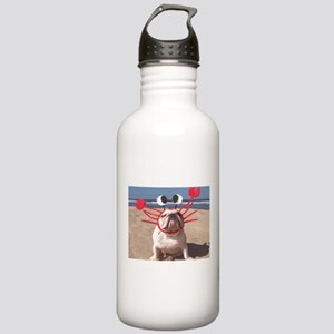 Lobster Dog Stainless Water Bottle 1.0L