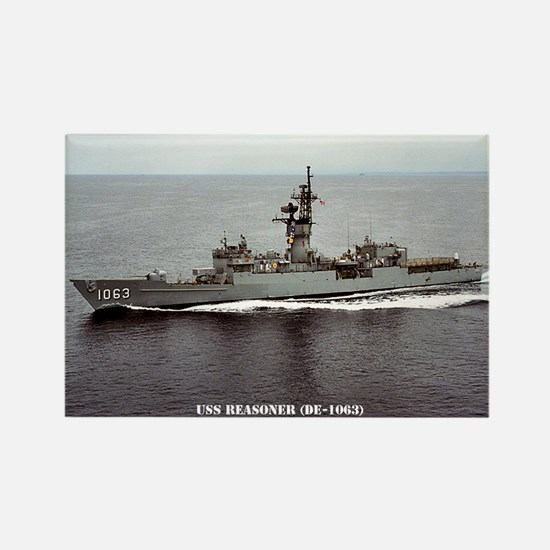 USS REASONER Rectangle Magnet