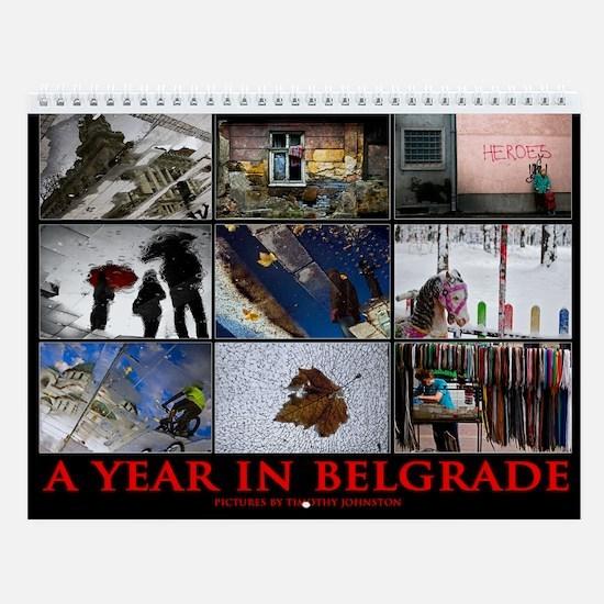 Cute Serb Wall Calendar