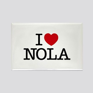 I Heart New Orleans Rectangle Magnet
